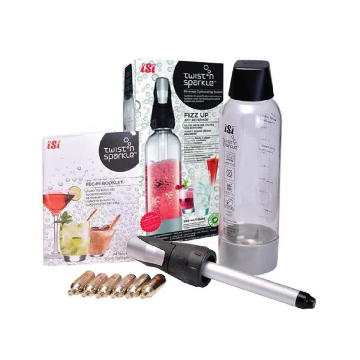 Twist & Sparkle Kit (include bottle & charger head)