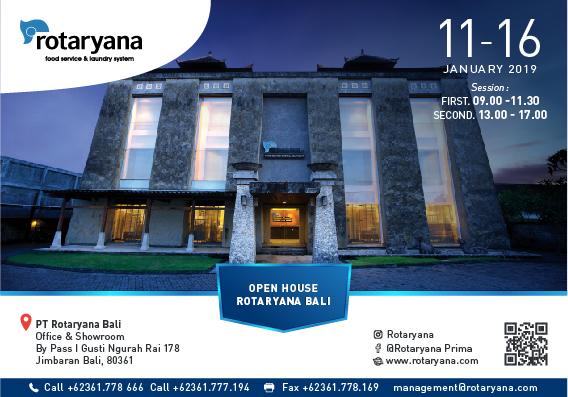 Open House Rotaryana Bali