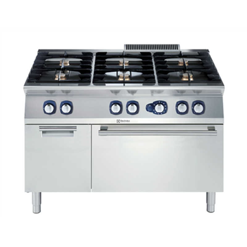 371005 6 Burner gas with gas oven