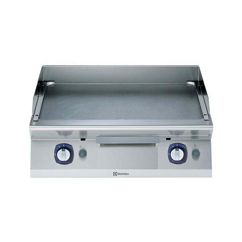 371032 Gas Fry top smooth + ribbed plate 800mm